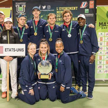 14th Master'U BNP Paribas : United States of America triumphs in Grenoble !